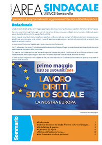 Area Sindacale n. 157 - Maggio 2019